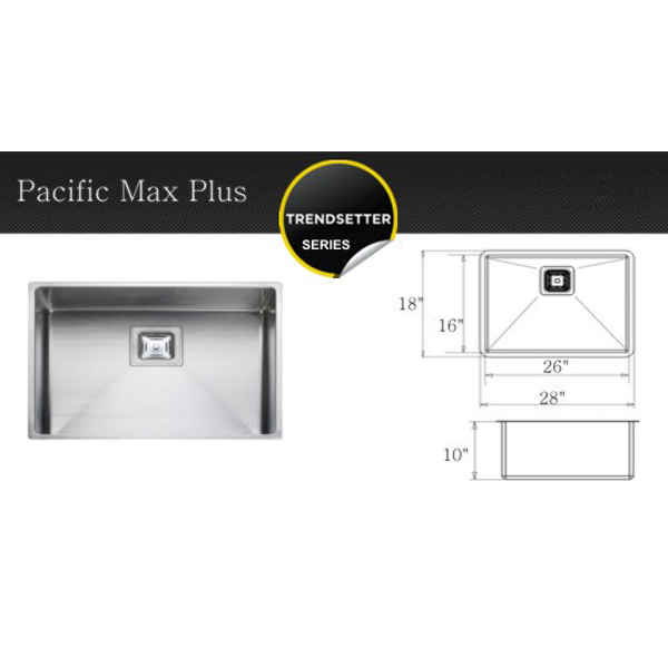 Pacific Max Plus – Starting at MSRP pricing $980.00